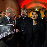 French Minister of Culture And Communication Visits Lyon