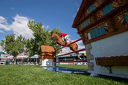 Lamaze Eric, CAN, Coco Bongo<br /> Spruce Meadows Masters - Calgary<br /> © Dirk Caremans<br /> 08/09/2018