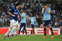 Esultanza dopo il gol di Diego Milito (Inter)<br /> Roma, 13/05/2012 Stadio Olimpico<br /> Football Calcio 2011/2012 <br /> Lazio vs Inter<br /> Campionato di calcio Serie A<br /> Foto Insidefoto Antonietta Baldassarre