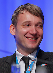 30.04.2016, Messe, Stuttgart, GER, 5. Bundesparteitag der AfD, im Bild André Poggenburg // during the 5th party convention of the Alternative for Germany (AfD) at the Messe in Stuttgart, Germany on 2016/04/30. EXPA Pictures © 2016, PhotoCredit: EXPA/ Sammy Minkoff<br /> <br /> *****ATTENTION - OUT of GER*****