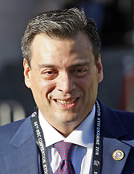 October 1, 2018 - Kiev, Ukraine - President of the World Boxing Council (WBC) MAURICIO SULAIMAN arrives at the opening of the 56th World Boxing Convention in Kiev, Ukraine, on 1 October 2018. The WBC 56th congress in which take part boxing legends Evander Holyfield,Lennox Lewis, Eric Morales and about 700 participants from 160 countries runs in Kiev from from September 30 to October 5. (Credit Image: © Serg Glovny/ZUMA Wire)