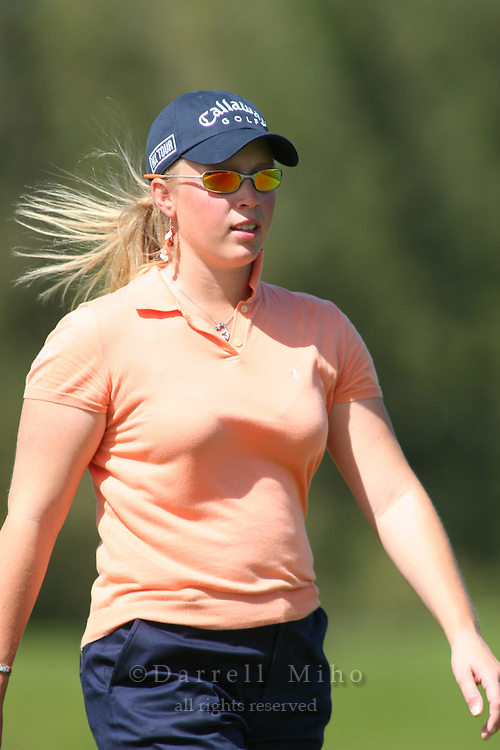 February 16, 2006 - Kahuku, HI - Morgan Pressel during Round 1 of the LPGA SBS Open at Turtle Bay Resort...Photo: Darrell Miho