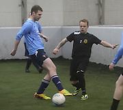 Riverside (blue) v Borussia Dexys - Dundee Saturday Morning FA Wintertoto 5 a sides at Soccerworld<br /> <br />  - &copy; David Young - www.davidyoungphoto.co.uk - email: davidyoungphoto@gmail.com