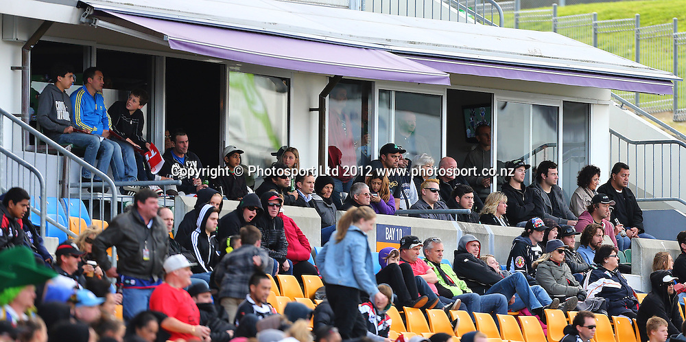 Corporate Hospitality during the NRL game, Vodafone Warriors v Canberra Raiders, Mt Smart Stadium, Auckland, Sunday 2 September  2012. Photo: Simon Watts /photosport.co.nz