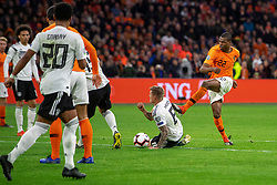 24-03-2019 NED: UEFA Euro 2020 qualification Netherlands - Germany, Amsterdam<br /> Netherlands lost the match 3-2 in the last minute / Denzel Dumfries #22 of The Netherlands
