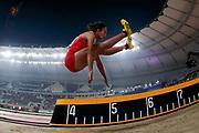 Maria Natalia Londa (Indonesia), Long Jump Women Qualification - Group B, during the 2019 IAAF World Athletics Championships at Khalifa International Stadium, Doha, Qatar on 5 October 2019.