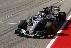 October 22, 2017 - Austin, United States of America - Motorsports: FIA Formula One World Championship 2017, Grand Prix of United States, ..#44 Lewis Hamilton (GBR, Mercedes AMG Petronas F1 Team) (Credit Image: © Hoch Zwei via ZUMA Wire)