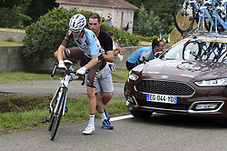 July 12, 2017 - Pau, France - Pau, France - July 12 : BARDET Romain of AG2R La Mondiale during stage 11 of the 104th edition of the 2017 Tour de France cycling race, a stage of 203.5 kms between Eymet and Pau on July 12, 2017 in Pau, France, 12/07/2017 (Credit Image: © Panoramic via ZUMA Press)