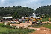 Gold Mining<br /> Olive Creek<br /> GUYANA<br /> South America