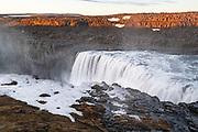 Dettifoss is a waterfall in Vatnajökull National Park in Northeast Iceland.