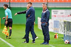 Oliver Bogatinov, coach of NK Aluminij during football match between NS Mura and NK Aluminij in 6th Round of Prva liga Telekom Slovenije 2018/19, on August 26, 2018 in Mestni stadion Fazanerija, Murska Sobota, Slovenia. Photo by Mario Horvat / Sportida
