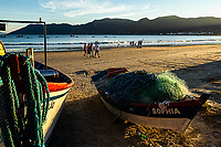Praia do Pântano do Sul. Florianópolis, Santa Catarina, Brasil. / Pantano do Sul Beach. Florianopolis, Santa Catarina, Brazil.