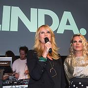 NLD/Amsterdam/20130916 - Linda Magazine bestaat 10 jaar, Linda de Mol en Jildou van der Bijl