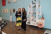 ANASTASIA GUNN; GYUNEL BOATENG  Royal Academy Summer exhibition private view. Piccadilly. London. 3 June 2015