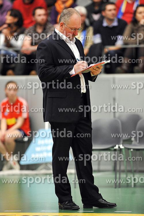 28.10.2011, Berlin, GER, VBL, Schicksalsschlag fur Berliner Mark Lebedew, trauert um seine tote Tochter Archiv aus 09.01.2011, ZF Arena, Friedrichshafen, GER, Volleyball Bundesliga Maenner 2010/2011, VfB Friedrichshafen vs. SCC Berlin, im Bild Mark Lebedew (Trainer SCC Berlin). EXPA Pictures © 2011, PhotoCredit: EXPA/ nph/   Conny Kurth       ****** out of GER / CRO  / BEL ******