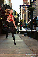 42nd Street Dance As Art Photography  New York City featuring dancer Cana Rohde.