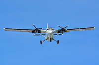DeHavilland Twin Otter on final approach