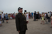 Bexhill Roaring Twenties event, Outside the de la Warr pavilion on the seafront, Saturday 22nd July 2017