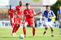 Joe Edwards of Walsall is closed down by Tom Nichols of Bristol Rovers - Mandatory by-line: Dougie Allward/JMP - 09/09/2017 - FOOTBALL - Memorial Stadium - Bristol, England - Bristol Rovers v Walsall - Sky Bet League One