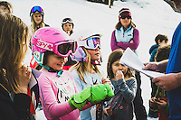 Day 3 - A walk through town. Young girl's recieve awards at a Saturday ski competition, Ouray, Colorado. Lee's Ski Hill is located in the town of Ouray Colorado and operates during the winter. from 330-5 weekdays and noon to 5 on the weekends. It is one of two tow rope ski hills in the nation that is free to the public.