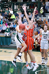 07 January 2017:  Ashley Schneider during an Wheaton Thunder and the Illinois Wesleyan Titans in Shirk Center, Bloomington IL