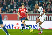 Benjamin Pavard - 15.03.2015 - Lille / Rennes - 29e journee Ligue 1<br /> Photo : Andre Ferreira / Icon Sport