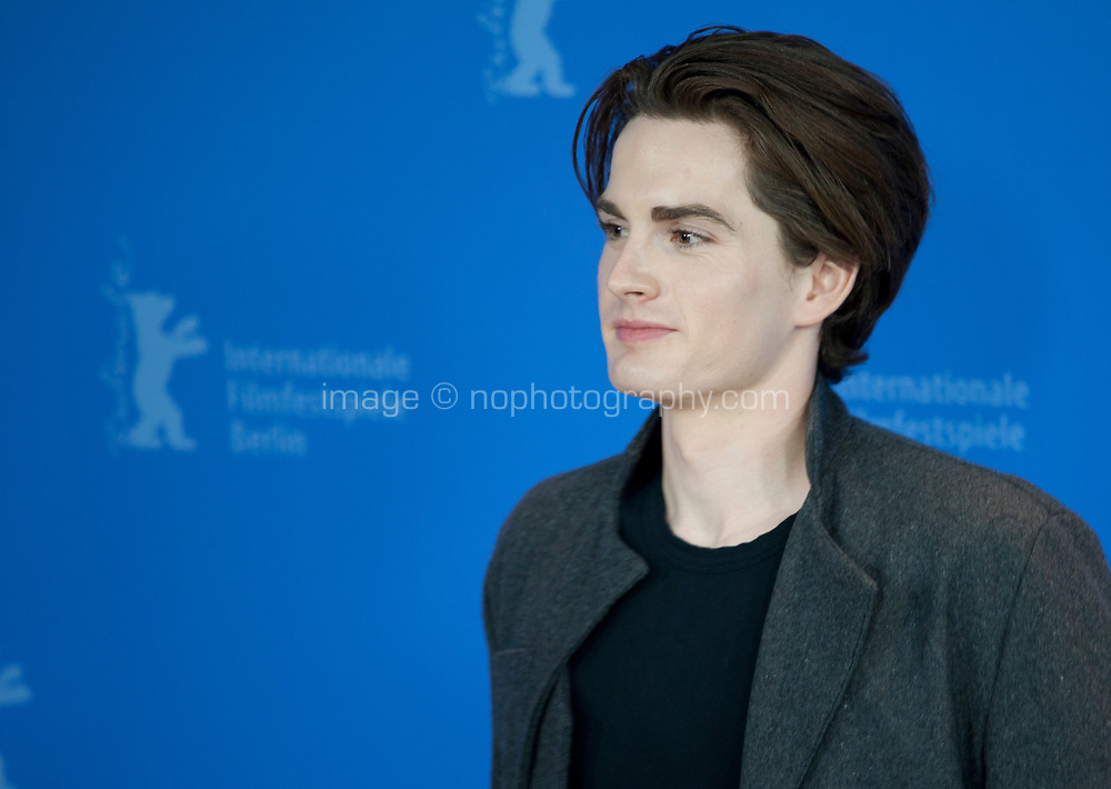 Actor Maximillian Johnson at the photocall for the film High Ground at the 70th Berlinale International Film Festival, on Sunday 23rd February 2020, Hotel Grand Hyatt, Berlin, Germany. Photo credit: Doreen Kennedy