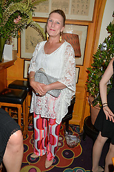 Joanna Hardy at the Bedales Art & Design Party hosted by David Linley at Annabel's, 44 Berkeley Square, London on 30th June 2015.