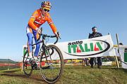 ITALY / ITALIE / ROME / CYCLING / WIELRENNEN / CYCLISME / CYCLOCROSS / CYCLO-CROSS / VELDRIJDEN / WERELDBEKER / WORLD CUP / COUPE DU MONDE / TRAINING / IPPODROMO CAPANNELLE / GERT JAN BOSMAN (NED) /