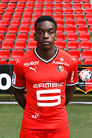 Christ Emmanuel Faitout Maouassa during photoshooting of Stade Rennais for new season 2017/2018 on September 19, 2017 in Rennes, France. (Photo by Philippe Le Brech/Icon Sport)