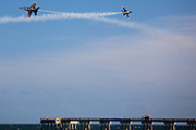 Blue Angels demonstration in Jacksonville Beach