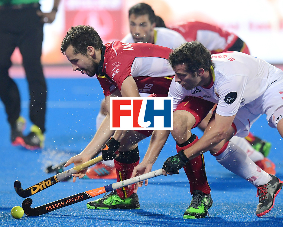 Odisha Men's Hockey World League Final Bhubaneswar 2017<br /> Match id:07<br /> Belgium v Spain<br /> Foto: Sergi Enrique (Esp) <br /> WORLDSPORTPICS COPYRIGHT FRANK UIJLENBROEK