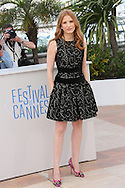 "CANNES, FRANCE - MAY 18:  Jessica Chastain attends the ""The Disappearance Of Eleanor Rigby"" photocall at the 67th Annual Cannes Film Festival on May 18, 2014 in Cannes, France.  (Photo by Tony Barson/FilmMagic)"
