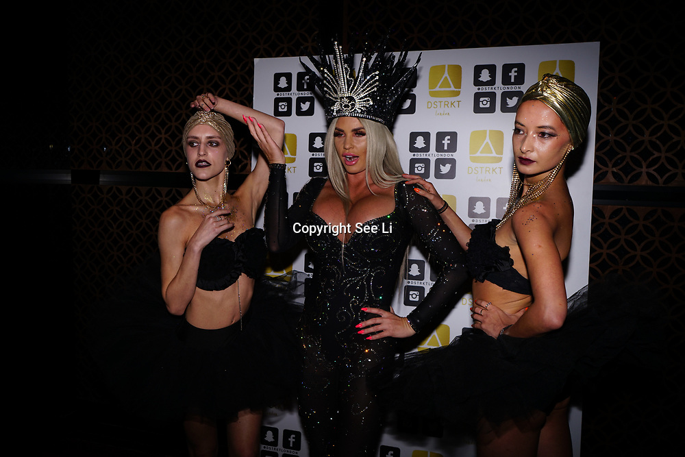 "London, Uk, 29th June 2017. Black Orchid Ballerinas at Katie Price is back, with her official launch tonight of ""I Got You"" Katies's first club anthem release at the award-winning celebrity nightclub and celebrity restaurant hotspot, DSTKRT."
