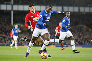 Everton's  Yannick Bolasie (14)  during the Premier League match between Everton and Manchester United at Goodison Park, Liverpool, England on 4 December 2016. Photo by Craig Galloway.