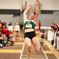 Maude Léveillé, Sherbrooke, 2019 U SPORTS Track and Field Championships on Thu Mar 07 at James Daly Fieldhouse. Credit: Arthur Ward/Arthur Images