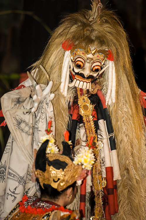 Stock photograph of a Barong dance in Bali, Indonesia