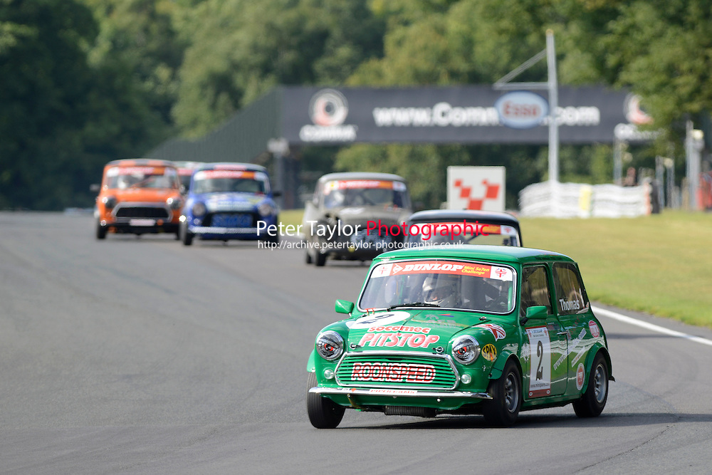 #2 Darren Thomas Mini 7 during Mini Se7en - Race 2 as part of the Mini Festival  at Oulton Park, Little Budworth, Cheshire, United Kingdom. August 08 2015. World Copyright Taylor/PSP. Copy of publication required for printed pictures.  Every used picture is fee-liable. http://archive.petertaylor-photographic.co.uk