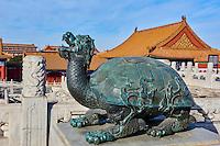 Chine, Pékin (Beijing), Cité Interdite, classée Patrimoine Mondial de l'UNESCO// China, Beijing, Forbidden City