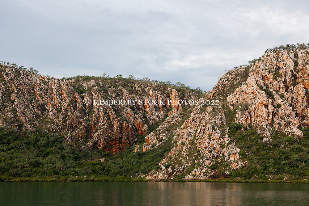 Stunning geological formations in Dugong Bay on the Kimberley coast.
