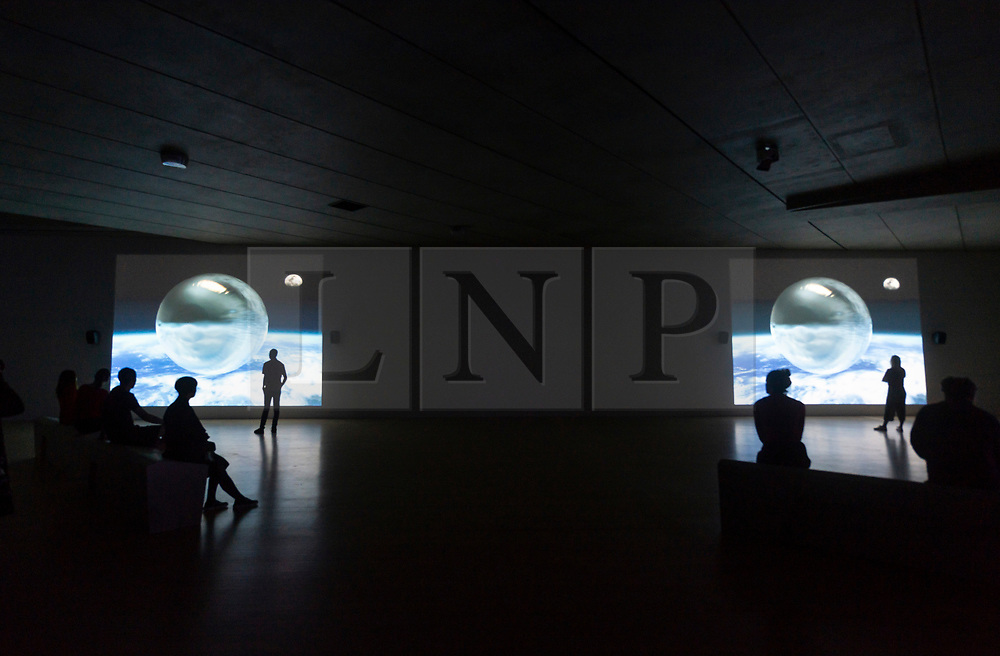 © Licensed to London News Pictures. 23/09/2019. London, UK. Visitors view a new installation titled O'Magic Power of Bleakness by aritst Mark Leckey showing at the Tate Britain. Photo credit: Ray Tang/LNP