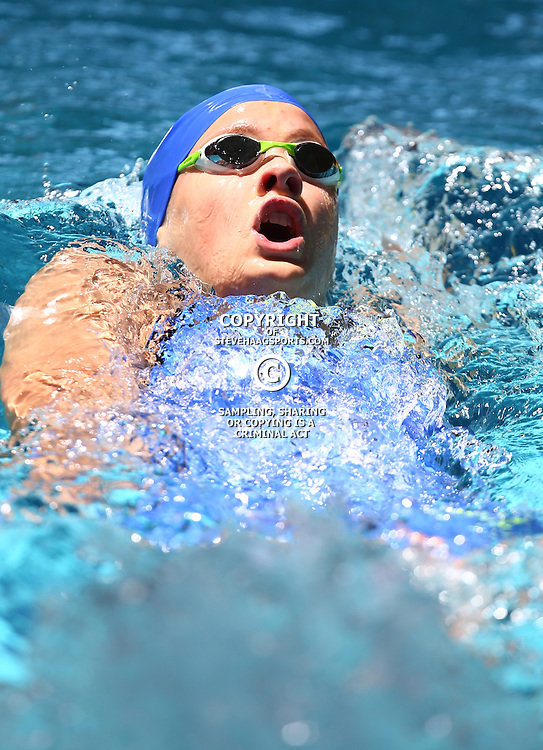 DURBAN, SOUTH AFRICA, February 6 2016 - Mariella Venter Women 100m LC Backstroke during Day 3  the second&nbsp;leg of the 2016 South African Swimming Grand Prix series at the  Kings Park Swimming Pool Durban South Africa. (Photo by Steve Haag)<br /> Images for social media must have consent from Steve Haag
