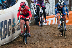 VAN DEN BRANDE Mirthe (BEL) during Women Elite race, 2019 UCI Cyclo-cross World Cup Heusden-Zolder, Belgium, 26 December 2019.<br /> <br /> Photo by Pim Nijland / PelotonPhotos.com <br /> <br /> All photos usage must carry mandatory copyright credit (Peloton Photos | Pim Nijland)