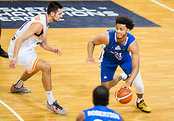 Shavon Shields of Fraport Skyliners during basketball match between KK Helios Suns (SLO) and Fraport Skyliners (GER) in Round #3 of FIBA Champions League 2016/17, on November 2, 2016 in Sports Hall Domzale, Slovenia. Photo by Vid Ponikvar / Sportida