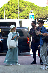 Naomi Watts arrives in Venice airport