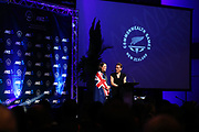 Sophie Pascoe is being named New Zealand team flag bearer for the Gold Coast 2018 Commonwealth Games. Gold Coast 2018 Commonwealth Games, New Zealand Flag Bearer Announcement Ceremony, Gold Coast, Australia. 3 April 2018 © Copyright Photo: Anthony Au-Yeung / www.photosport.nz