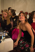 EMILY BEAMISH; BRYONY DANIELS; ROCIO LOWSON;  The Royal Caledonian Ball 2015. Grosvenor House. Park Lane, London. 1 May 2015.