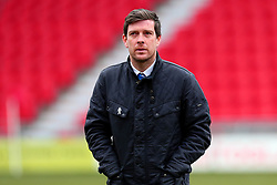 Bristol Rovers manager Darrell Clarke - Mandatory by-line: Robbie Stephenson/JMP - 27/01/2018 - FOOTBALL - The Keepmoat Stadium - Doncaster, England - Doncaster Rovers v Bristol Rovers - Sky Bet League One