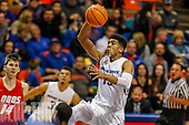 2017 Boise State basketball vs New Mexico