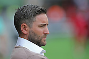 Bristol manager Lee Johnson during the EFL Sky Bet Championship match between Bristol City and Derby County at Ashton Gate, Bristol, England on 17 September 2016. Photo by Gary Learmonth.